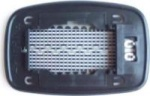 Ford Fiesta [96-99] Clip In Heated Wing Mirror Glass